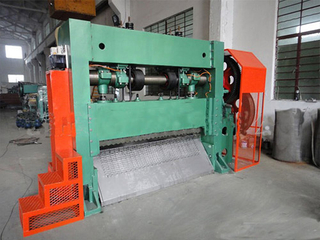 Expanded Plate Mesh Machine
