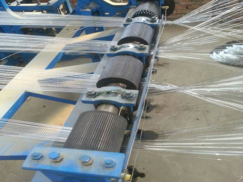 (Once-through)Series Crimped Wire Mesh Weaving Machine